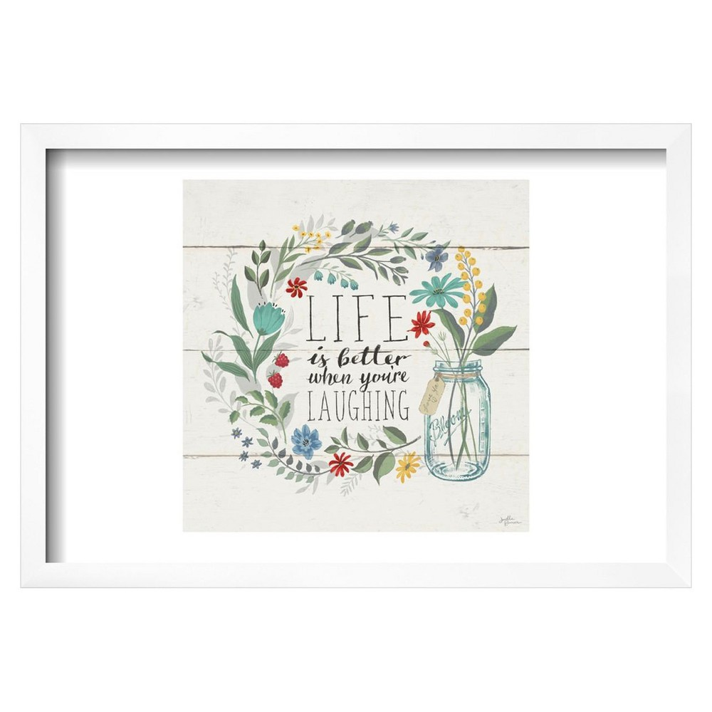 Blooming Thoughts I by Janelle Penner Framed Poster 19