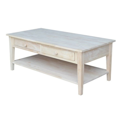 Spencer Coffee Table - International Concepts - image 1 of 4