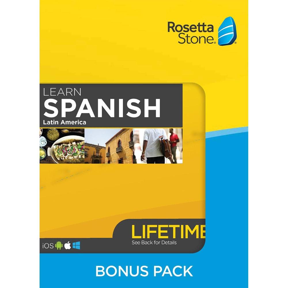 Rosetta Stone Lifetime Barron's Bundle Spanish LA was $319.0 now $199.0 (38.0% off)