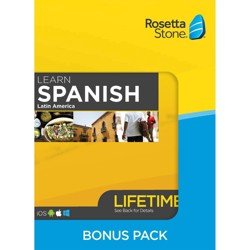 Rosetta Stone Lifetime Barron's Bundle Spanish LA