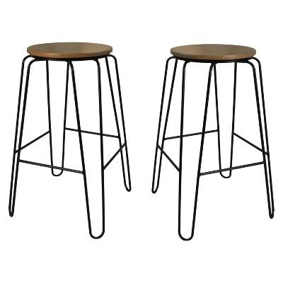 "Set of 2 29"" Winston Barstools - Carolina Chair & Table"