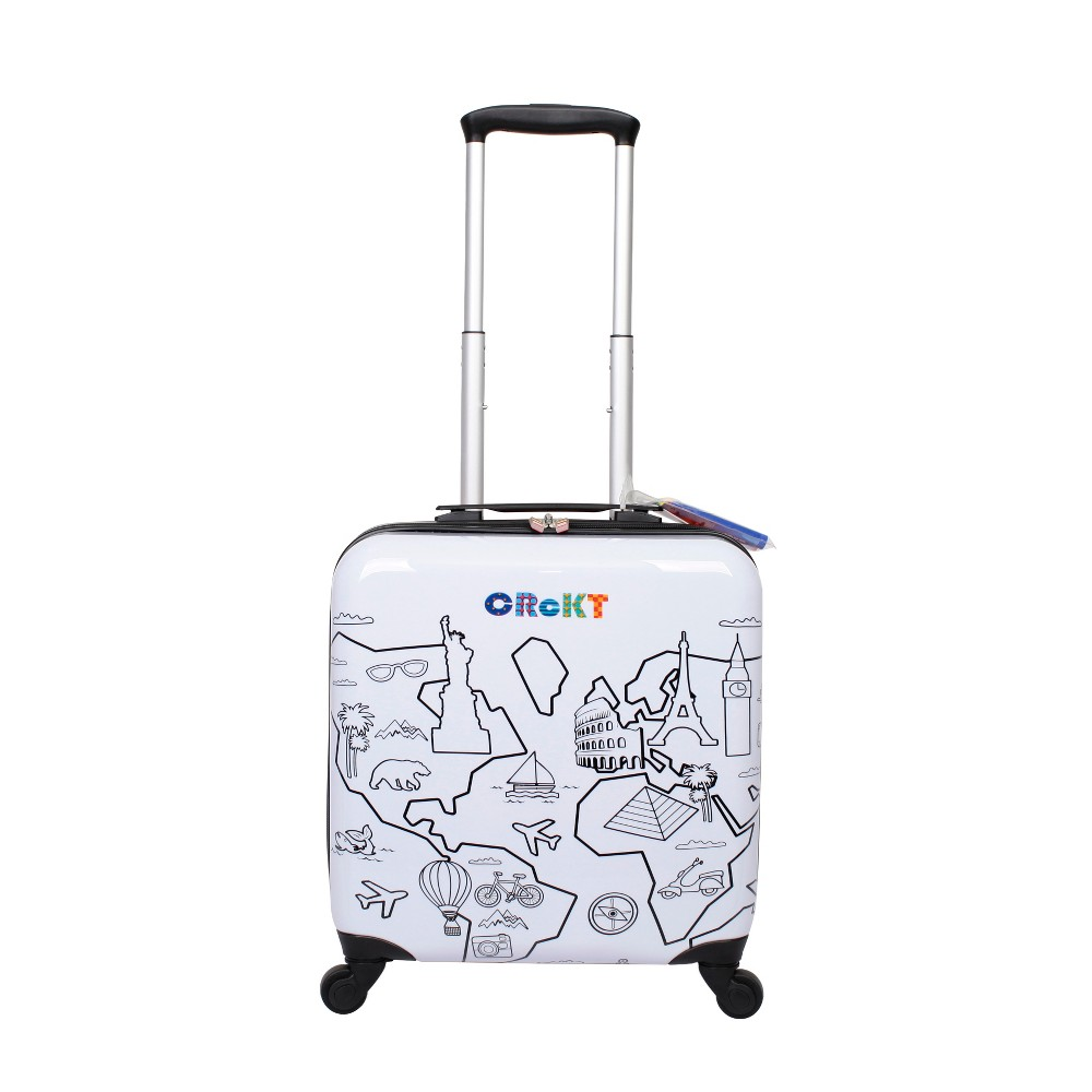 Crckt 14 Hardside Spinner Carry On Suitcase - Drawable