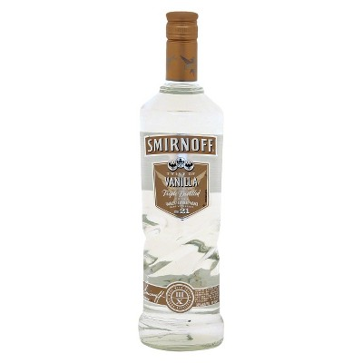 Smirnoff Twist of Vanilla Flavored Vodka - 750ml Bottle