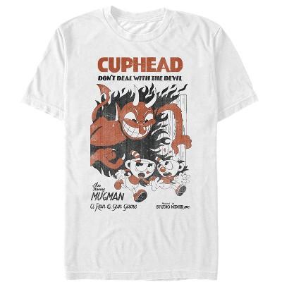 Men's Cuphead Retro Devil Deal T-Shirt