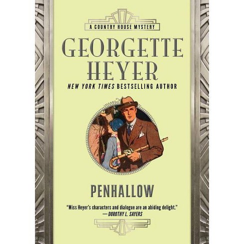 Penhallow - (Country House Mysteries) by  Georgette Heyer (Paperback) - image 1 of 1