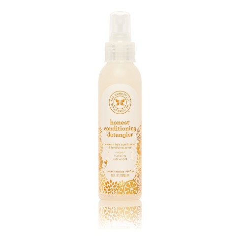 The Honest Company Conditioning Detangler & Fortifying Spray 4 oz - image 1 of 3