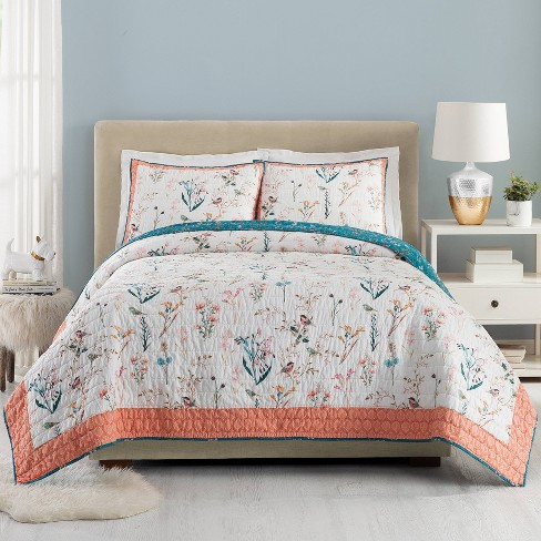 English Garden Quilt Set - Teresa Chan for Makers Collective - image 1 of 4