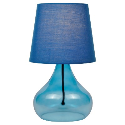 Jamie Table Lamp Blue (Includes Energy Efficient Light Bulb)- Lite Source