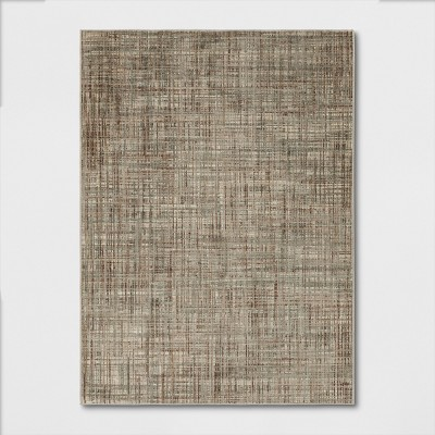 Woven Gridlines with Thin Stripe Rug - Project 62™