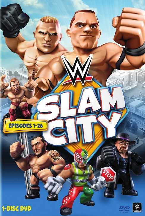 WWE: Slam City - image 1 of 1