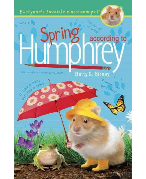 Spring According to Humphrey (Reprint) (Paperback) (Betty G. Birney) - image 1 of 1