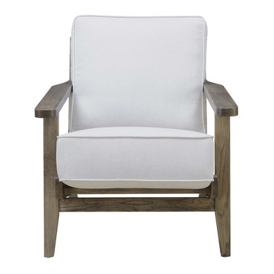 Mercer Accent Chair With Antique Legs Taupe Brown   Picket House Furnishings