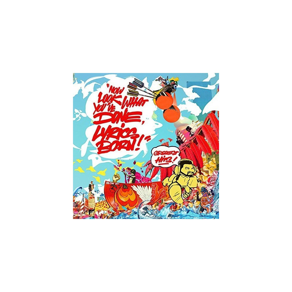 Lyrics Born - Now Look What You've Done Lyrics Born (Vinyl)