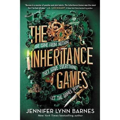 The Inheritance Games - by Jennifer Lynn Barnes (Paperback)
