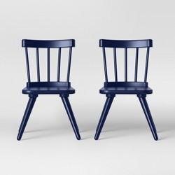 Set of 2 Kids Windsor Wooden Chairs - Pillowfort™