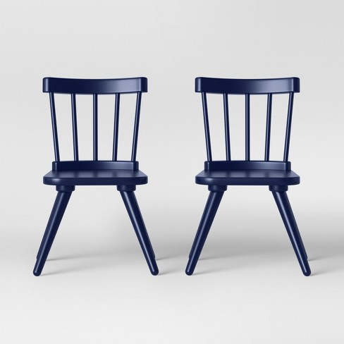 Set of 2 Kids Windsor Wooden Chairs - Pillowfort™ - image 1 of 4