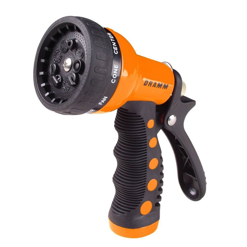 Image of 9 Pattern Revolver Spray Nozzle Orange - Dramm