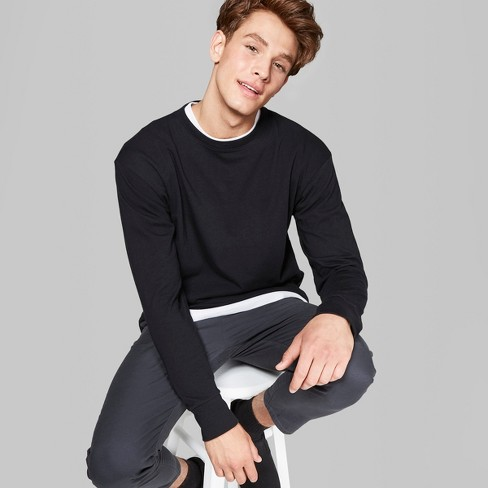 long sleeve tops men