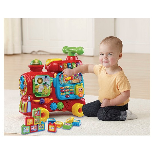 VTech Sit-to-Stand Ultimate Alphabet Train image number null