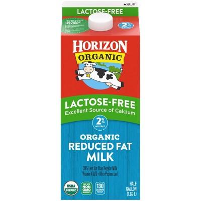 Horizon Organic 2% Reduced Fat Lactose-Free Milk - 0.5gal