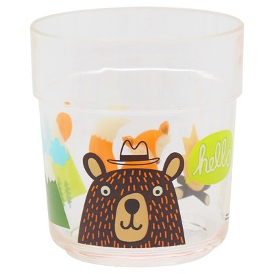 Bear Decal 9.5 oz Short Plastic Tumbler - Pillowfort™