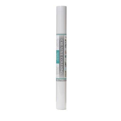 "Con-Tact 18"" x 20' Creative Covering Multipurpose Shelf Liner White"