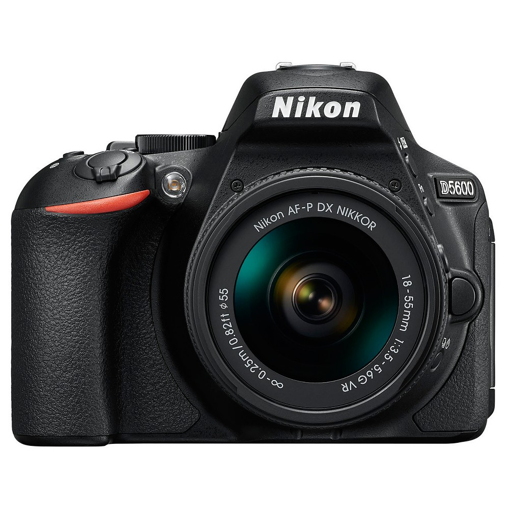 Nikon D5600 Digital Slr Camera 18-55mm - Black (1576)
