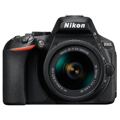 Nikon D5600 Digital SLR Camera 18-55mm -  Black (1576) - image 1 of 4
