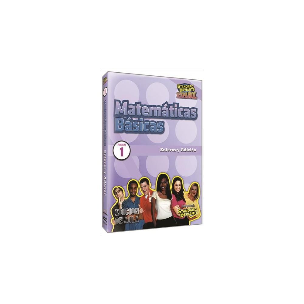 Standard Deviants Espanol:Matematicas (Dvd)