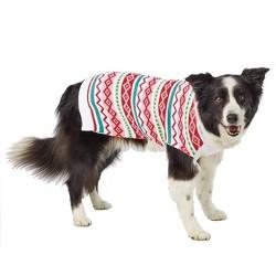 Colorful Fairisle Cat & Dog Sweater - Pink - Wondershop™