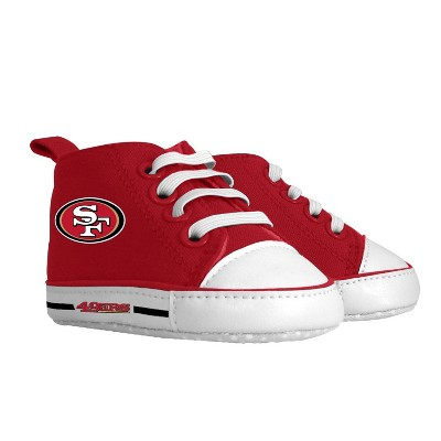 NFL San Francisco 49ers Baby High Top Sneakers - 0-6M