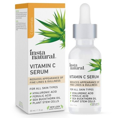 InstaNatural Vitamin C Facial Serum - 1 fl oz