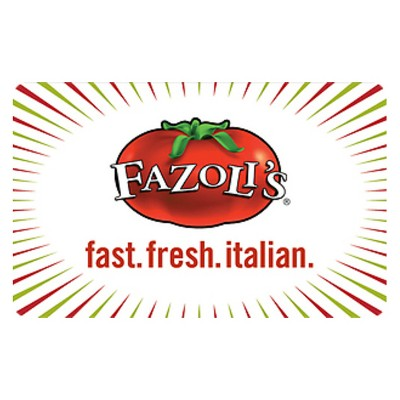Fazolis $15 (Email Delivery)