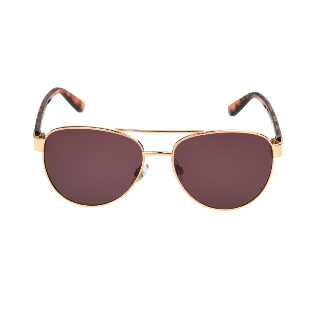 Women's Aviator Sunglasses - A New Day Bold Gold
