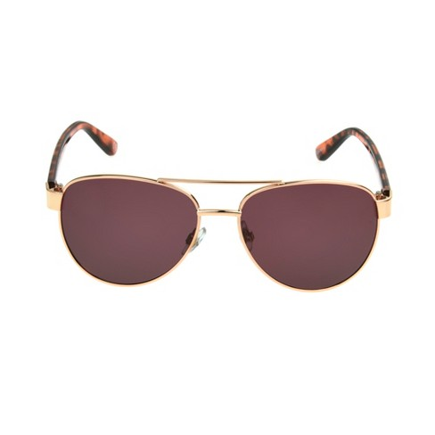 ac05e1381b Women s Aviator Sunglasses - A New Day™ Bold Gold   Target