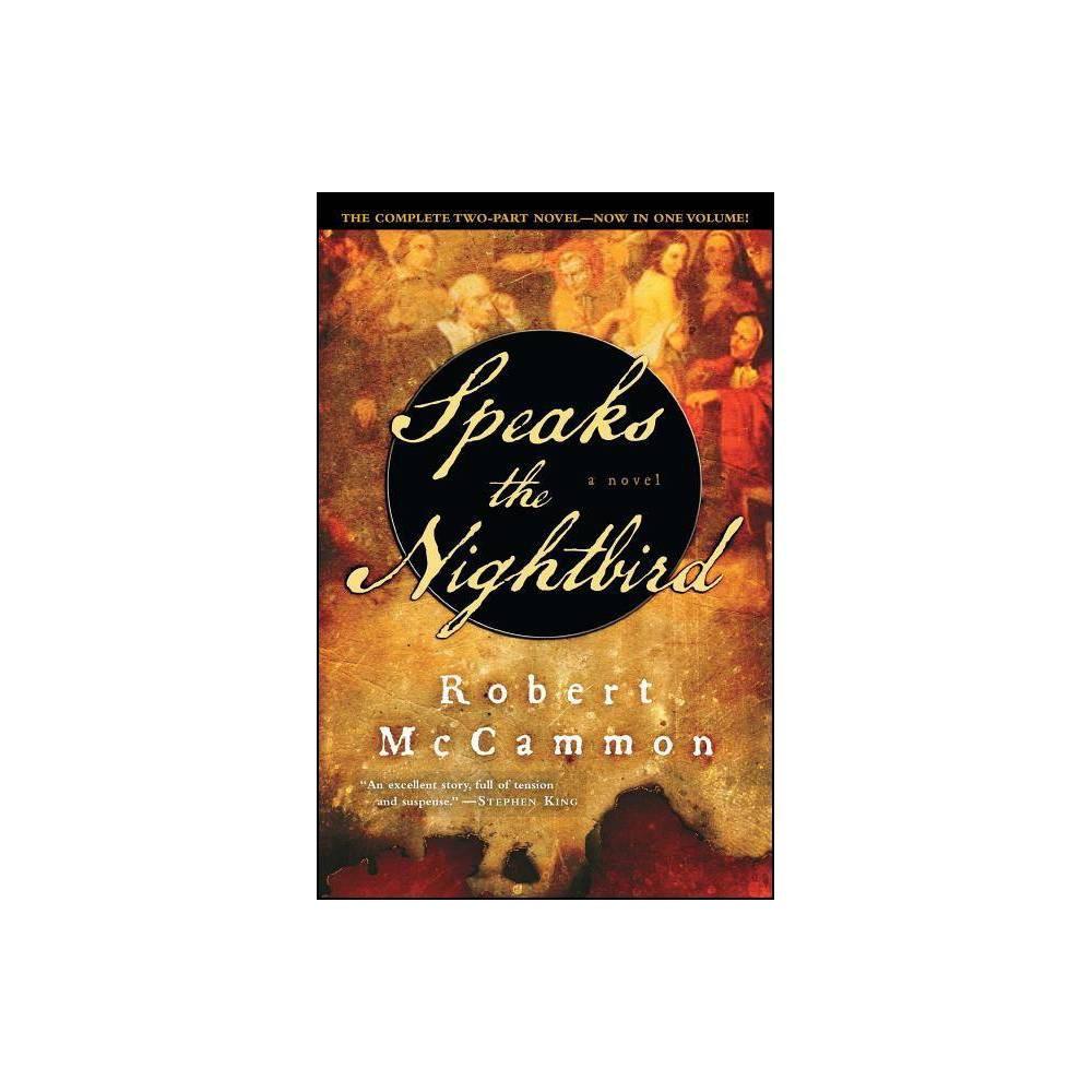 Speaks The Nightbird By Robert Mccammon Paperback