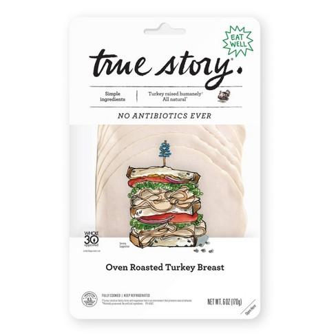 True Story Oven Roasted Turkey - 6oz - image 1 of 4