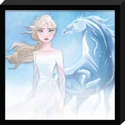 Frozen 2 Elsa Glass Framed Wall Canvas