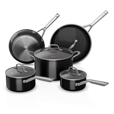 Ninja Foodi Neverstick 9pc Nonstick Cookware Set Black Target