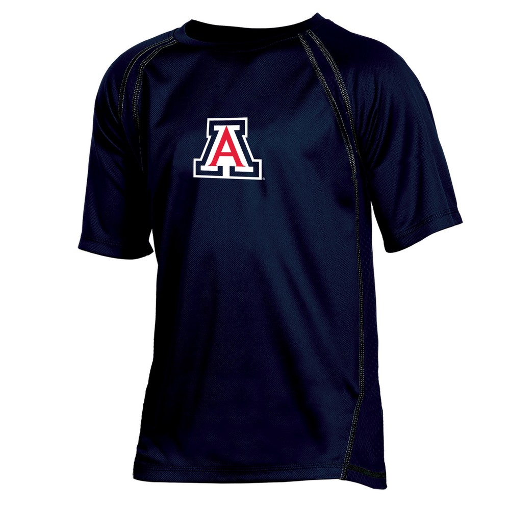 Arizona Wildcats Boys' Impact Poly Performance T-Shirt XS, Multicolored
