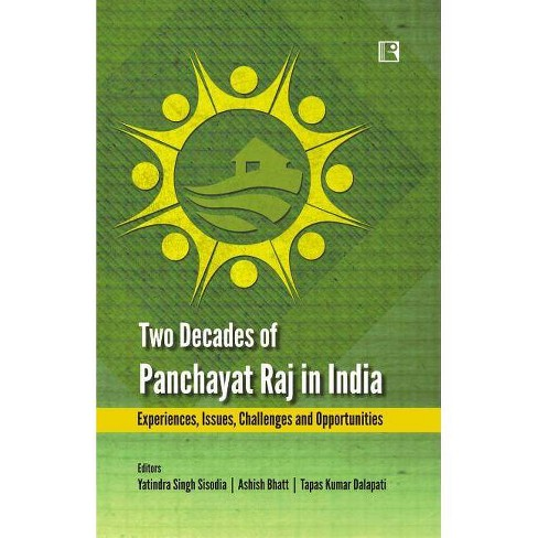 Two Decades Of Panchayat Raj In India - (Hardcover) : Target
