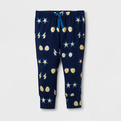 Baby Boys' Jogger Pants - Cat & Jack™ Navy 3-6M