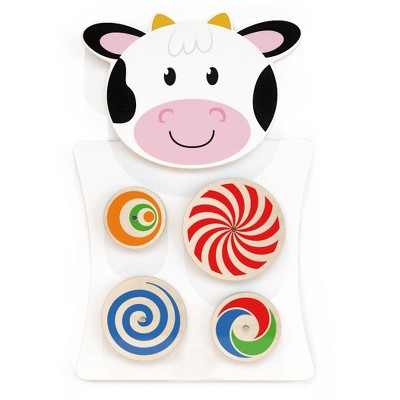 Learning Advantage Cow Activity Wall Panel