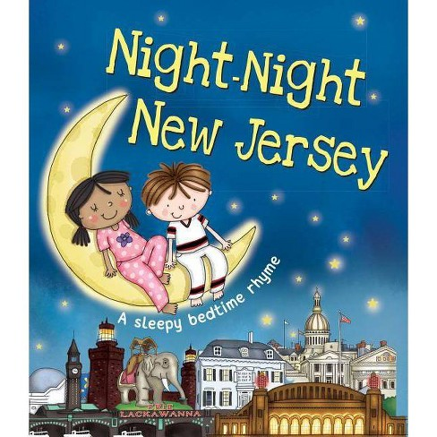 Night-Night New Jersey - by  Katherine Sully (Board_book) - image 1 of 1
