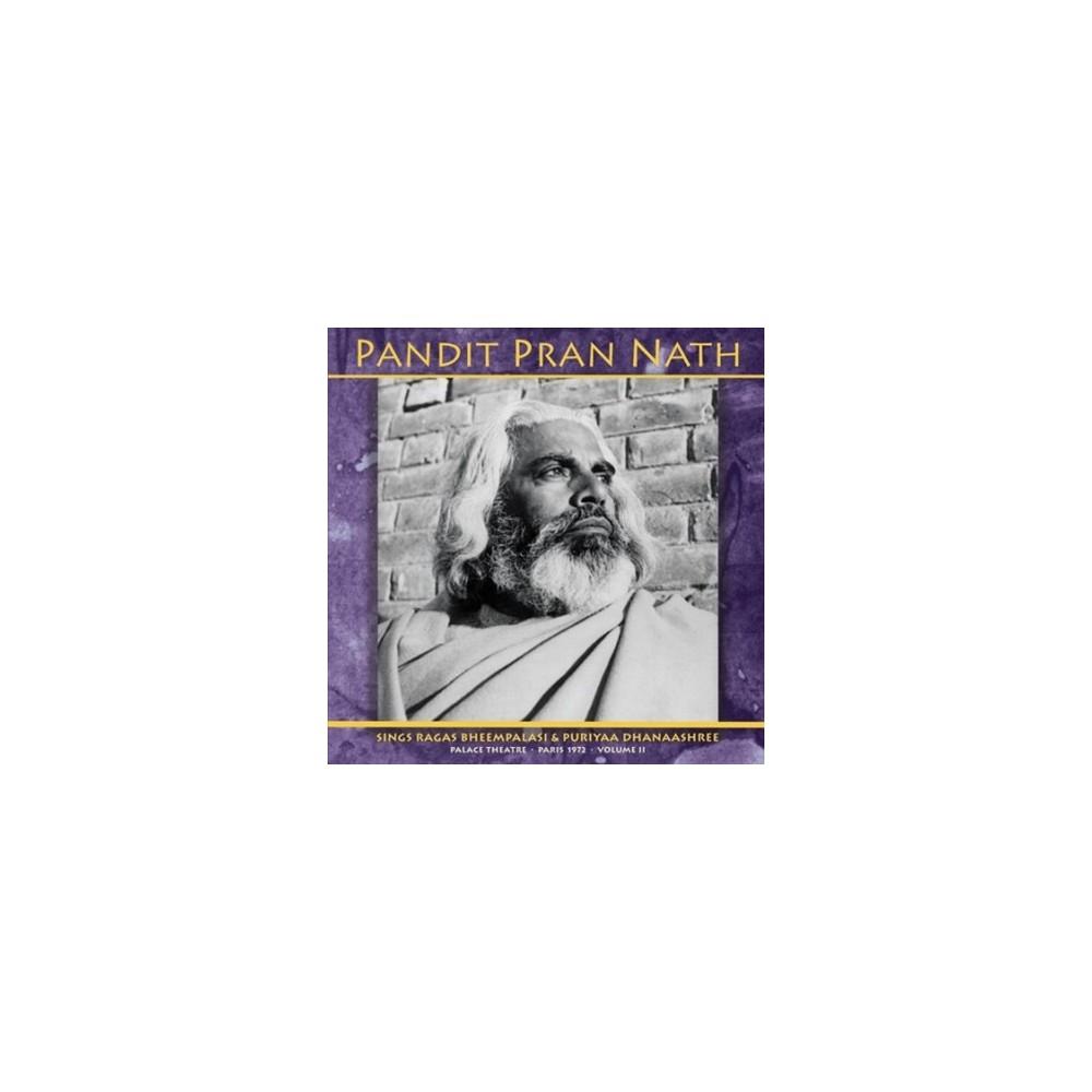 Pandit Pran Nath - Raga Cycle Palace Theatre Paris 1972 (Vinyl)