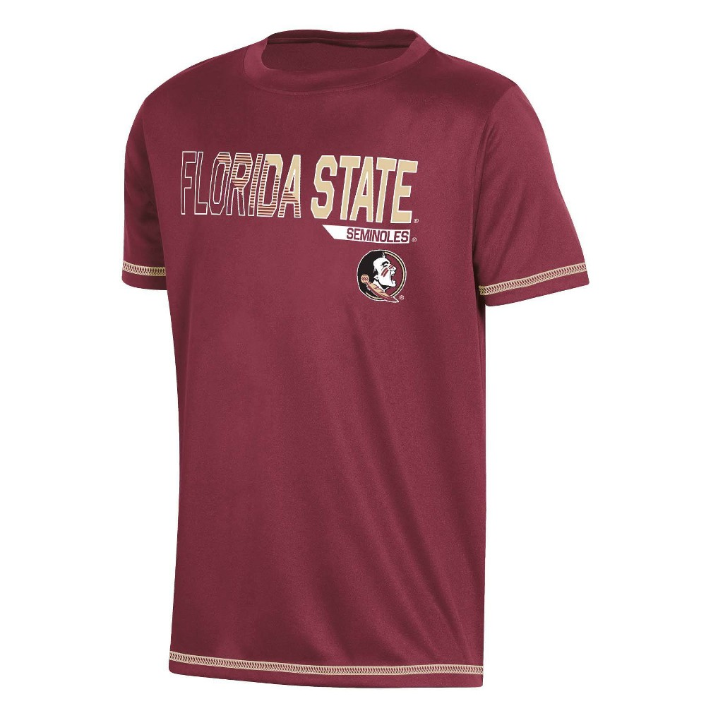 Ncaa Florida State Seminoles Boys 39 Short Sleeve Crew Neck T Shirt M