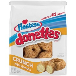 Hostess Crunch Donettes - 9.5oz