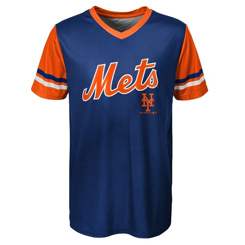 a18e7a80 MLB New York Mets Boys' Homerun Sublimated Jersey : Target