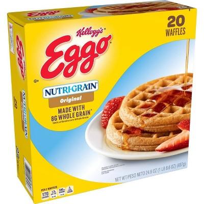 Kellogg's Eggo Nutr-Grain Frozen Waffles - 24.6oz/20ct