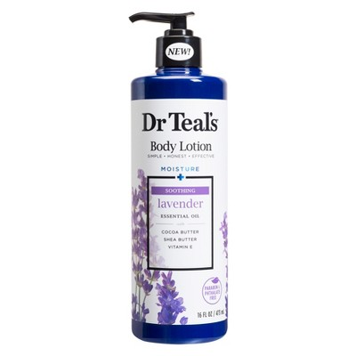 Dr Teal's Soothing Lavender Body Lotion - 16 fl oz